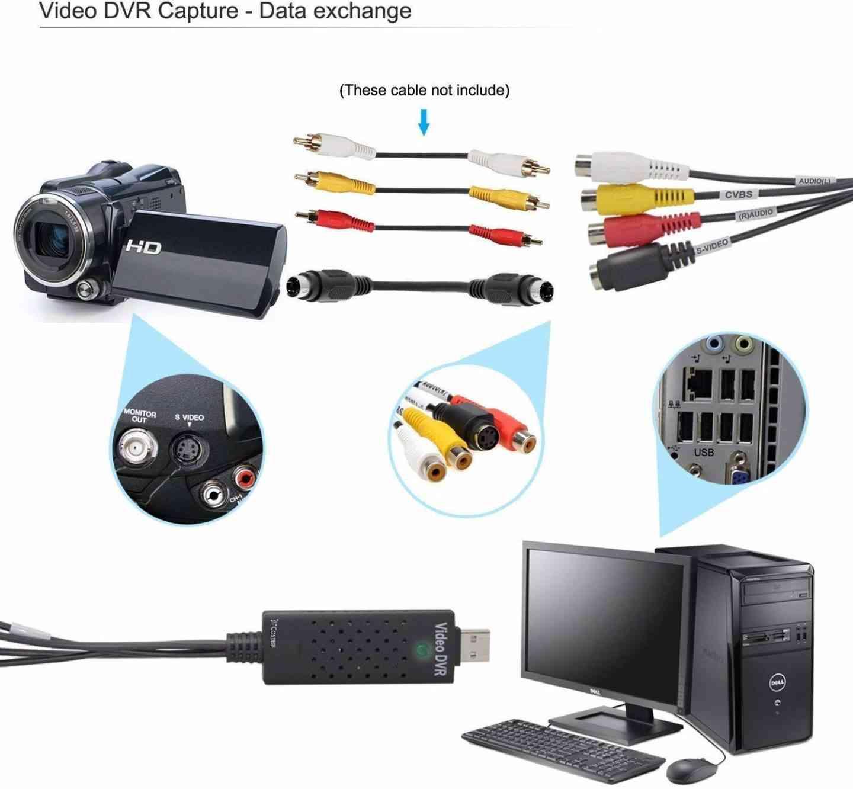 USB 2.0 Video Capture Card