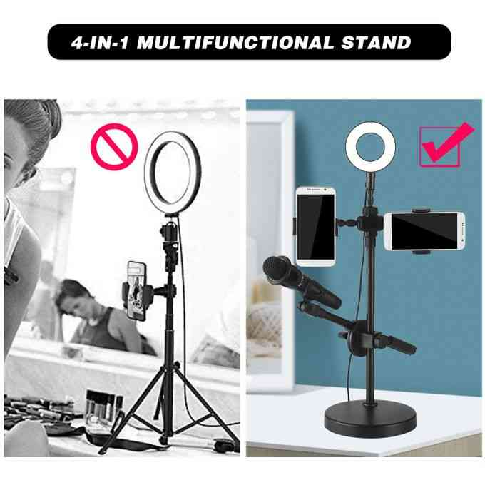 product_image_name-Generic-Selfie Ring Light with Phone Holder and Microphone Stand 3-3