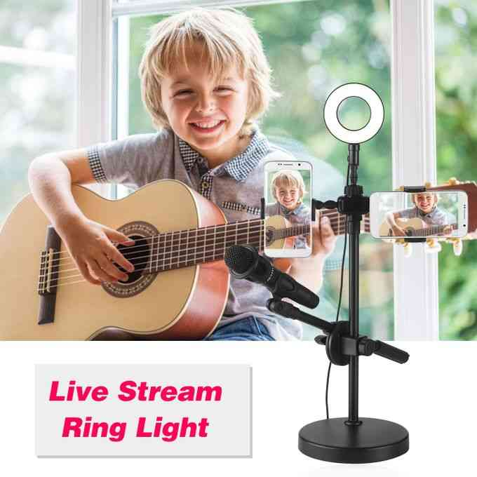 product_image_name-Generic-Selfie Ring Light with Phone Holder and Microphone Stand 3-4