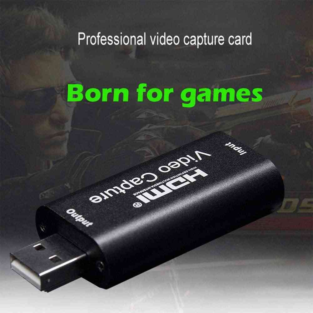 hdmi to usb capture card for game streaming