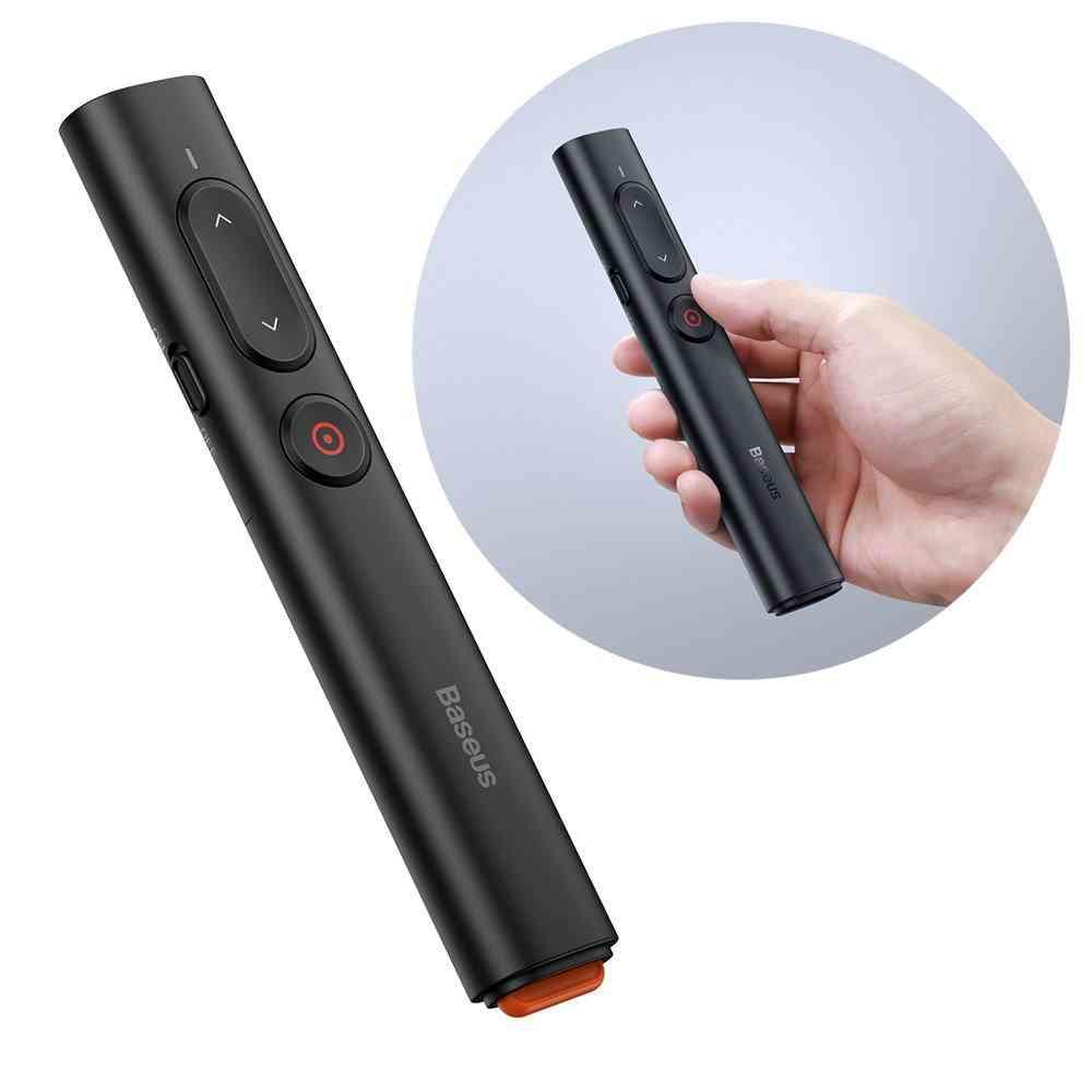 1 Baseus Orange Dot PPT wireless Presenter Youth Black