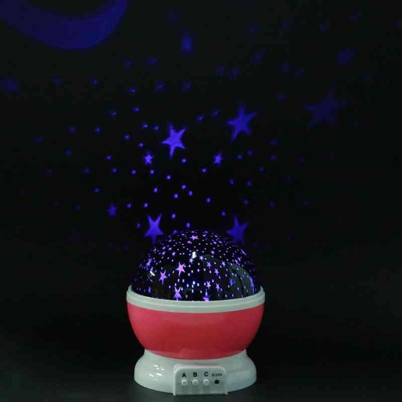 Star Master LED Rotating Night Light