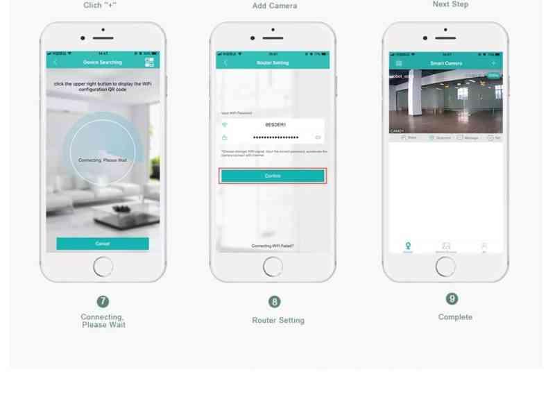 iCsee Wifi Camera App Setup