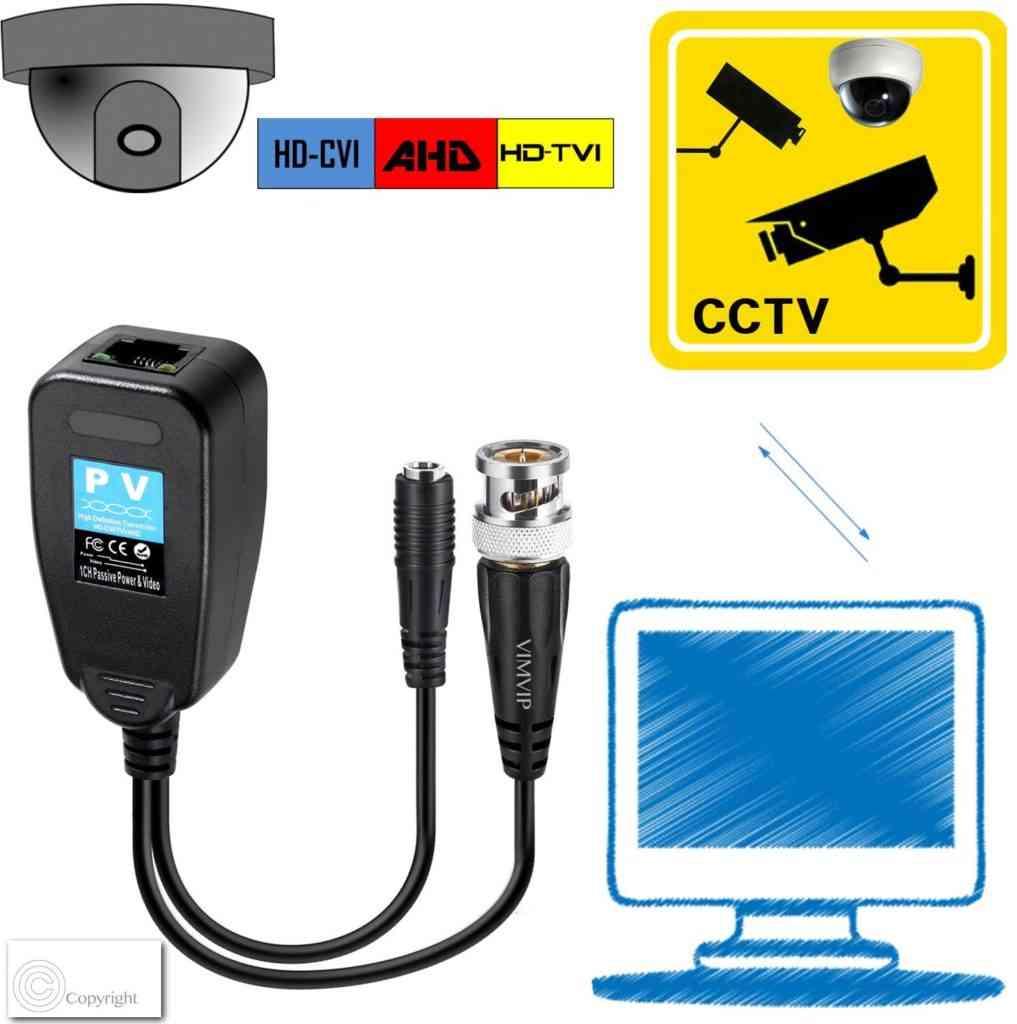 Passive HD Video Balun
