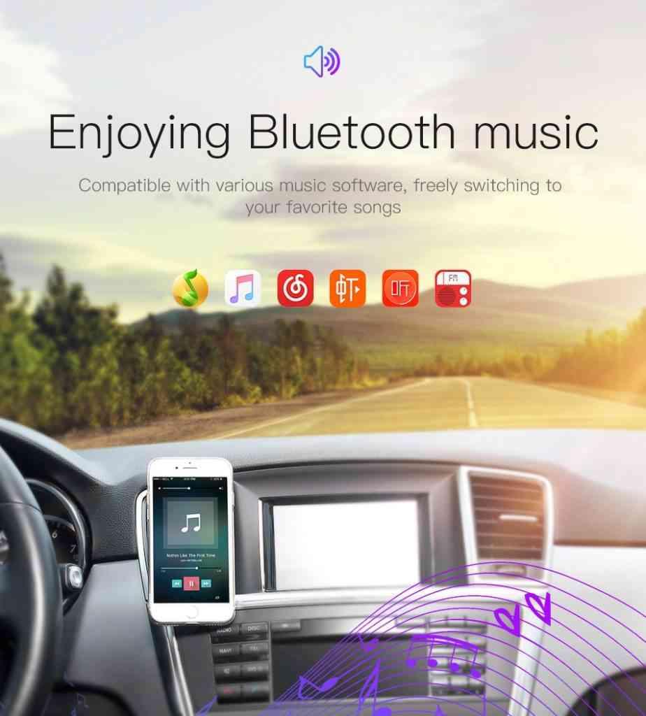 Baseus Bluetooth MP3 Vehicle Charger