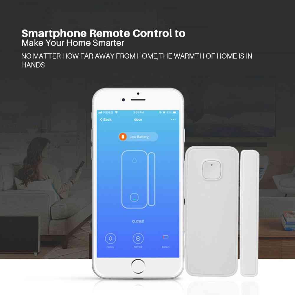 Wireless WiFi Door Alarm Window Sensor Detector Smart Home Security Door Magnetic Switch System -buy at a low prices on Joom e-commerce platform