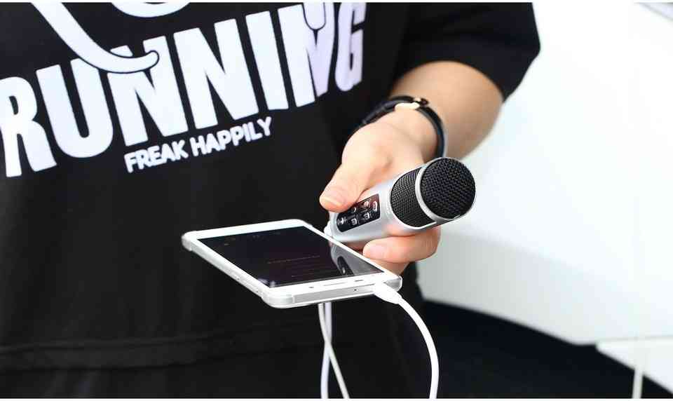 Remax K02 Noise Canceling Microphone