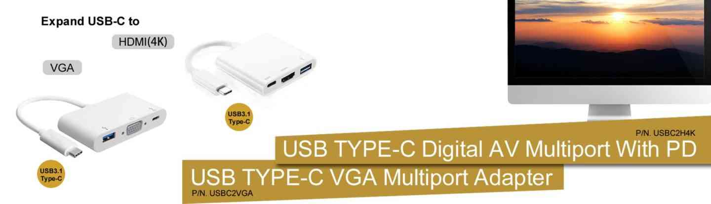 Small Order Support for USB 3.1 Type C to VGA Adapter (M/F) aluminum housing Factory, Manufacturers, Suppliers China - Wholesale Bulk - Mslchina Limited