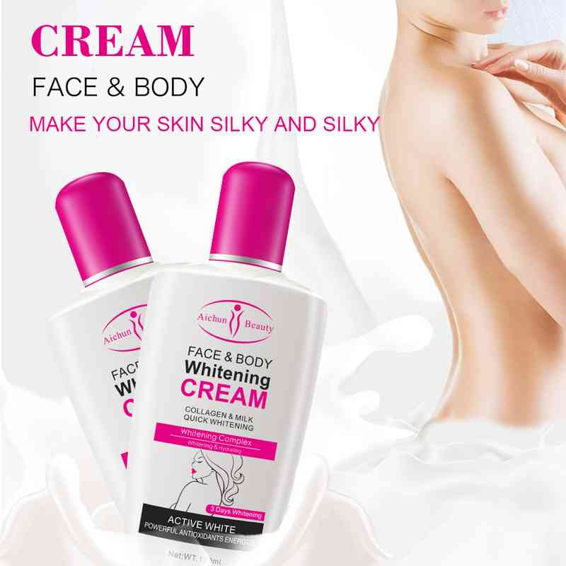 AICHUN BEAUTY_Whitening Cream Collagen Milk For Face & Body Lotion: Buy Online at Best Prices in Pakistan | Daraz.pk