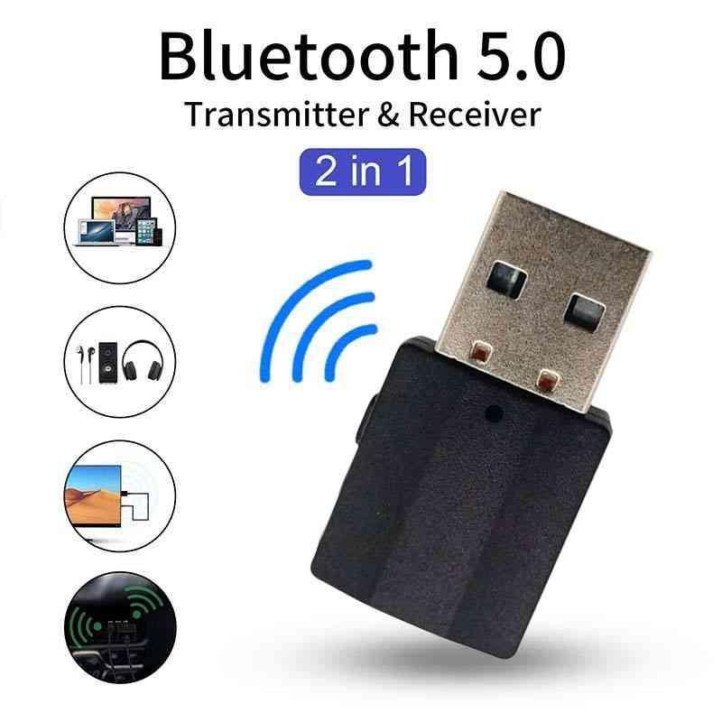 BT600 USB Bluetooth transmitter receiver 2-in-1 wireless audio  adapter Bluetooth Tech | Shopee Indonesia