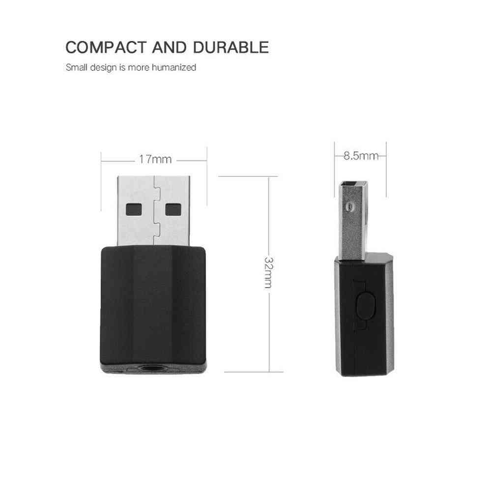 Buy 2 In 1 Bluetooth 5.0 Receiver Transmitter Adapter New Arrivals Audio  Adapter 3.5mm for TV MP3 Car Speaker Hot Sale on ezbuy TH