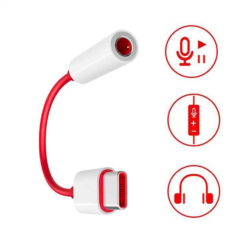 Oneplus Type-C To 3.5mm Aux Cable