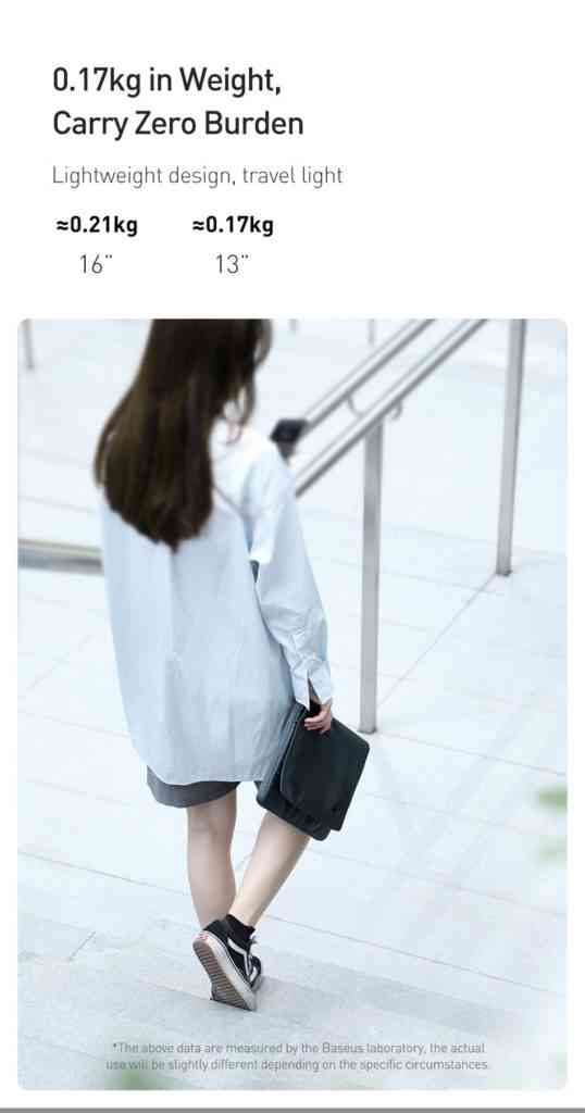 Baseus Laptop Sleeve Bag