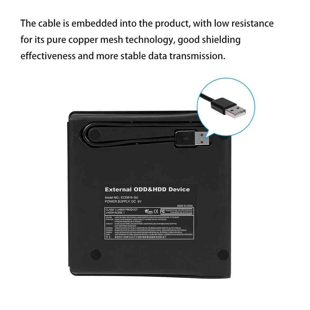 Portable External DVD Drive