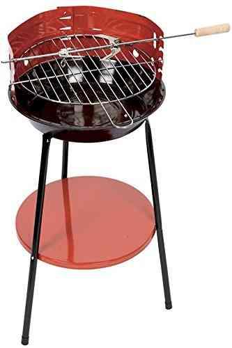 Portable Round Barbecue Grill