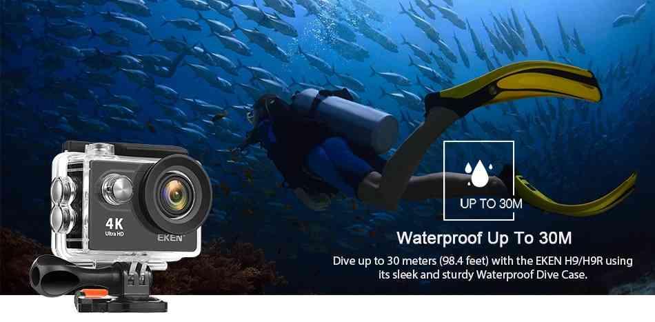 Eken H9R 4K Action Camera 10