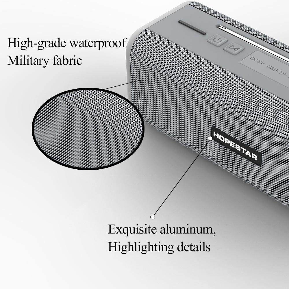 HOPESTAR T9 Waterproof Wireless Bluetooth speaker
