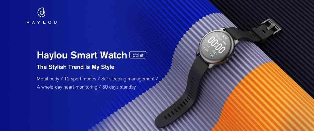 XIAOMI Haylou LS05 Solar watch