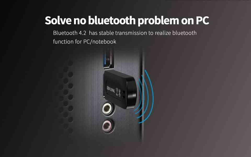 LB Link Bluetooth 4.2 + Wifi N USB Adapter Bluetooth WiFi USB Combo Adapter