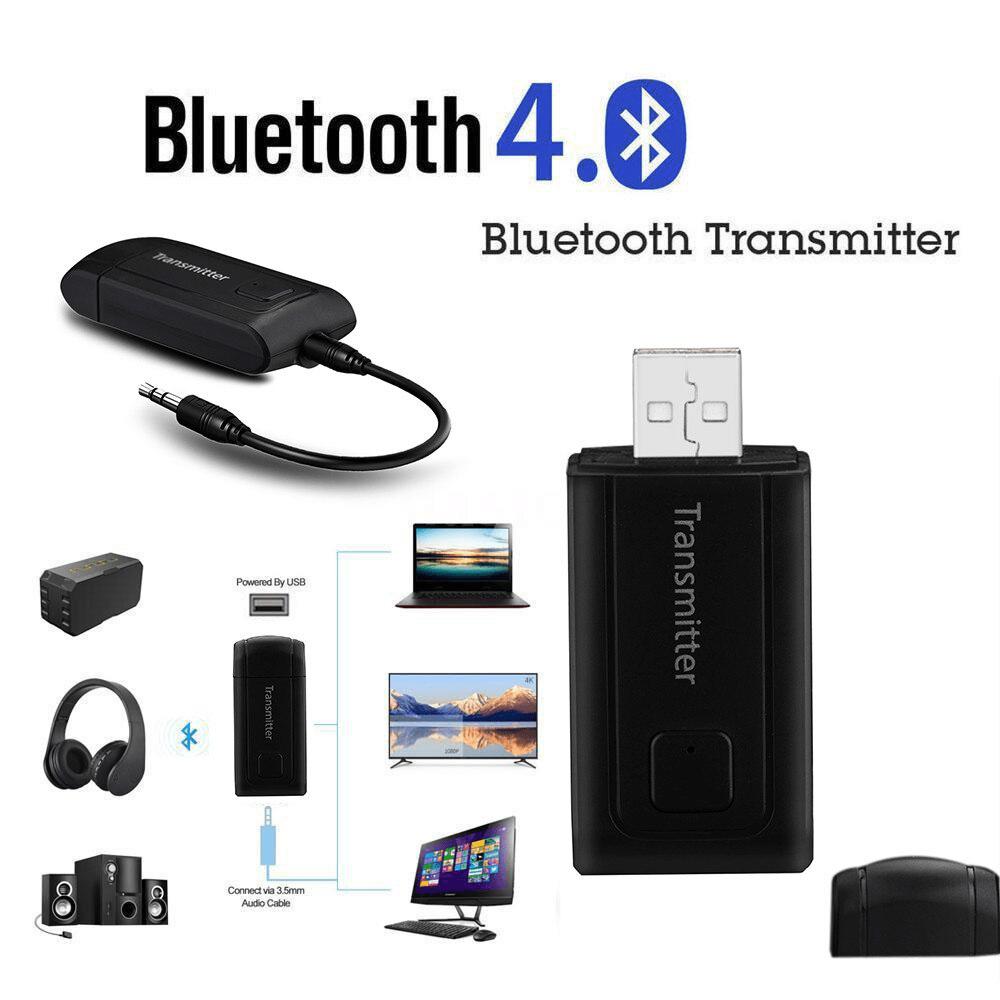 Wireless Bluetooth 4.0 Transmitter Stereo Audio Music Adapter